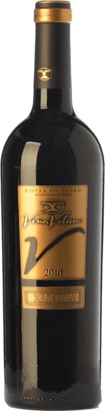 17,95 € Envoi gratuit | Vin rouge Viña Vilano Reserva D.O. Ribera del Duero Castille et Leon Espagne Tempranillo Bouteille 75 cl