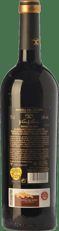 23,95 € Free Shipping   Red wine Viña Vilano Reserva D.O. Ribera del Duero Castilla y León Spain Tempranillo Bottle 75 cl