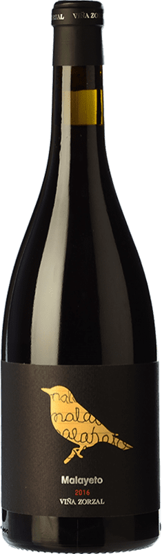 17,95 € Free Shipping | Red wine Viña Zorzal Malayeto Joven D.O. Navarra Navarre Spain Grenache Bottle 75 cl