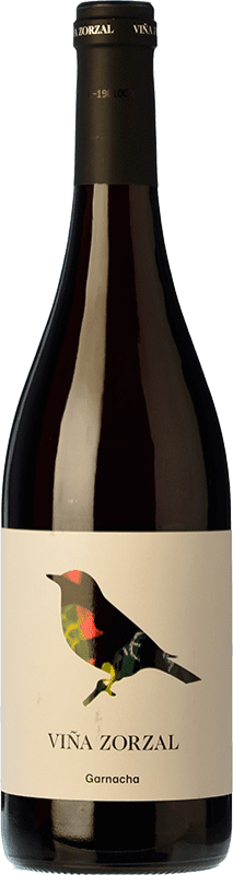 8,95 € Free Shipping | Red wine Viña Zorzal Joven D.O. Navarra Navarre Spain Grenache Bottle 75 cl