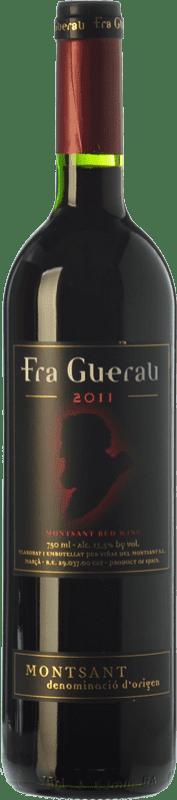 8,95 € Free Shipping | Red wine Viñas del Montsant Fra Guerau Crianza D.O. Montsant Catalonia Spain Tempranillo, Merlot, Syrah, Grenache, Cabernet Sauvignon, Torrontés Bottle 75 cl