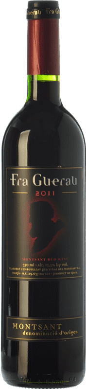 8,95 € Envoi gratuit | Vin rouge Viñas del Montsant Fra Guerau Crianza D.O. Montsant Catalogne Espagne Tempranillo, Merlot, Syrah, Grenache, Cabernet Sauvignon, Torrontés Bouteille 75 cl