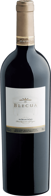 96,95 € Envoi gratuit | Vin rouge Viñas del Vero Blecua Crianza 2008 D.O. Somontano Aragon Espagne Tempranillo, Merlot, Syrah, Cabernet Sauvignon Bouteille 75 cl