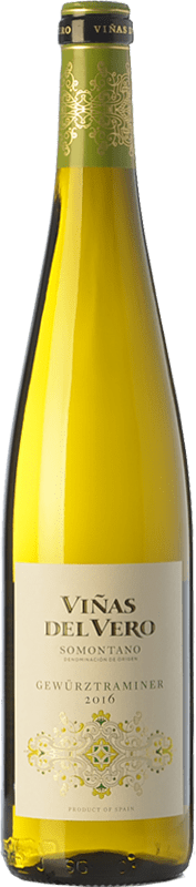 12,95 € | White wine Viñas del Vero D.O. Somontano Aragon Spain Gewürztraminer Bottle 75 cl