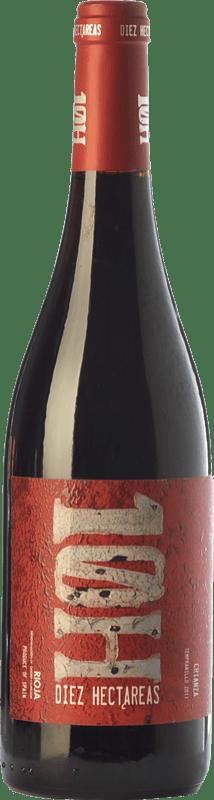 8,95 € Envoi gratuit | Vin rouge Viñedos de Altura 10H Crianza D.O.Ca. Rioja La Rioja Espagne Tempranillo, Graciano, Mazuelo Bouteille 75 cl