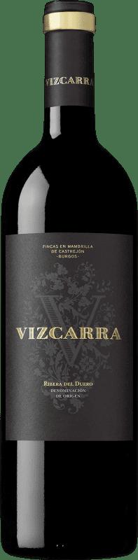 14,95 € 免费送货 | 红酒 Vizcarra Crianza D.O. Ribera del Duero 卡斯蒂利亚莱昂 西班牙 Tempranillo 瓶子 75 cl