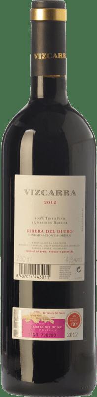 16,95 € Free Shipping   Red wine Vizcarra Crianza D.O. Ribera del Duero Castilla y León Spain Tempranillo Magnum Bottle 1,5 L