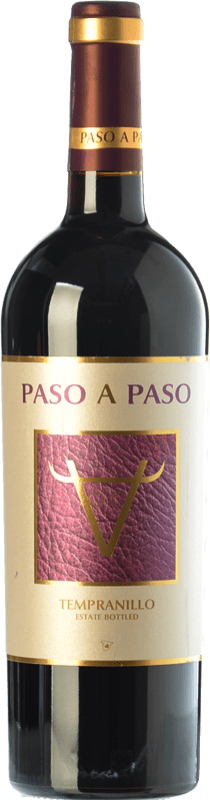 6,95 € Envoi gratuit | Vin rouge Volver Paso a Paso Joven I.G.P. Vino de la Tierra de Castilla Castilla La Mancha Espagne Tempranillo Bouteille 75 cl