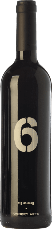 11,95 € Free Shipping | Red wine Winery Arts Seis al Revés Crianza Spain Tempranillo, Merlot Bottle 75 cl
