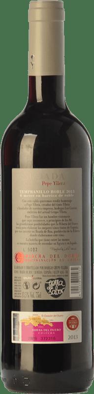 9,95 € Free Shipping   Red wine Yllera Boada Pepe Roble D.O. Ribera del Duero Castilla y León Spain Tempranillo Bottle 75 cl