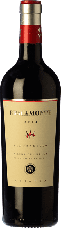13,95 € Envoi gratuit | Vin rouge Yllera Bracamonte Crianza D.O. Ribera del Duero Castille et Leon Espagne Tempranillo Bouteille 75 cl