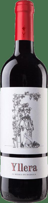 6,95 € Free Shipping | Red wine Yllera 12 Meses en Barrica Crianza I.G.P. Vino de la Tierra de Castilla y León Castilla y León Spain Tempranillo Bottle 75 cl