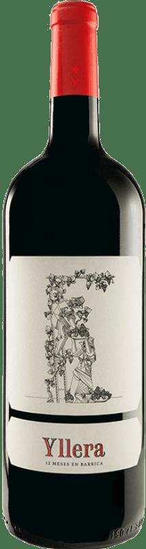 18,95 € Envío gratis | Vino tinto Yllera Crianza I.G.P. Vino de la Tierra de Castilla y León Castilla y León España Tempranillo Botella Mágnum 1,5 L