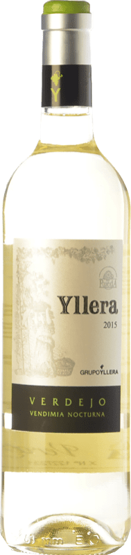 7,95 € Free Shipping | White wine Yllera Joven D.O. Rueda Castilla y León Spain Verdejo Bottle 75 cl