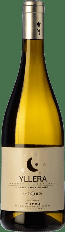 6,95 € 免费送货 | 白酒 Yllera D.O. Rueda 卡斯蒂利亚莱昂 西班牙 Sauvignon White 瓶子 75 cl
