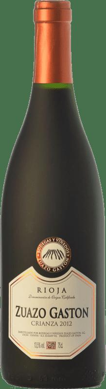 8,95 € 免费送货   红酒 Zuazo Gaston Crianza D.O.Ca. Rioja 拉里奥哈 西班牙 Tempranillo 瓶子 75 cl