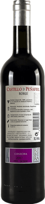 Thesaurus Castillo de Peñafiel 6 Meses Tempranillo Ribera del Duero Crianza 75 cl