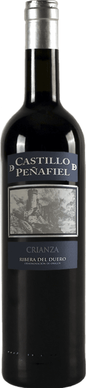 Красное вино Thesaurus Castillo de Peñafiel 12 Meses Crianza D.O. Ribera del Duero Кастилия-Леон Испания Tempranillo бутылка 75 cl