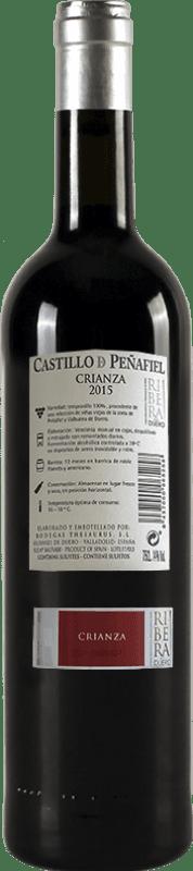14,95 € Spedizione Gratuita   Vino rosso Thesaurus Castillo de Peñafiel 12 Meses Crianza D.O. Ribera del Duero Castilla y León Spagna Tempranillo Bottiglia 75 cl
