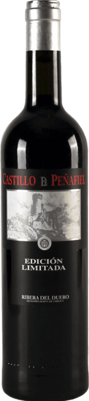 24,95 € | Red wine Thesaurus Castillo de Peñafiel 18 Meses Reserva D.O. Ribera del Duero Castilla y León Spain Tempranillo Bottle 75 cl