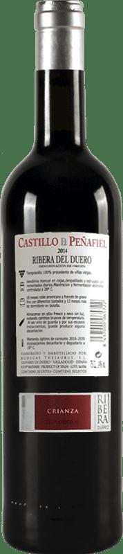 24,95 € Spedizione Gratuita   Vino rosso Thesaurus Castillo de Peñafiel 18 Meses Reserva D.O. Ribera del Duero Castilla y León Spagna Tempranillo Bottiglia 75 cl