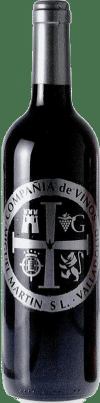 4,95 € Spedizione Gratuita | Vino rosso Thesaurus Cosechero Joven Spagna Tempranillo Bottiglia 75 cl