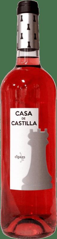 5,95 € | Rosé wine Thesaurus Casa Castilla Joven D.O. Cigales Castilla y León Spain Tempranillo Bottle 75 cl