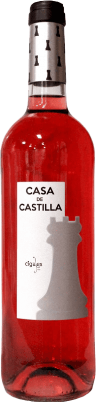 5,95 € Envio grátis | Vinho rosé Thesaurus Casa Castilla Joven D.O. Cigales Castela e Leão Espanha Tempranillo Garrafa 75 cl