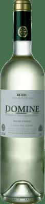 5,95 € Envio grátis | Vinho branco Thesaurus Domine Joven D.O. Rueda Castela e Leão Espanha Verdejo, Sauvignon Branca Garrafa 75 cl