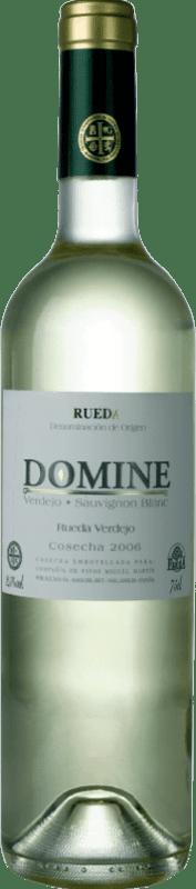 Бесплатная доставка | Белое вино Thesaurus Domine Joven D.O. Rueda Кастилия-Леон Испания Verdejo, Sauvignon White бутылка 75 cl