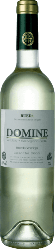 5,95 € | White wine Thesaurus Domine Joven D.O. Rueda Castilla y León Spain Verdejo, Sauvignon White Bottle 75 cl