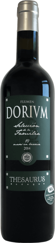 18,95 € | Red wine Thesaurus Flumen Dorium 18 Meses Reserva D.O. Ribera del Duero Castilla y León Spain Tempranillo Bottle 75 cl