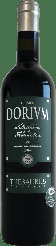 24,95 € Free Shipping | Red wine Thesaurus Flumen Dorium Selección de la Familia 18 Meses Reserva D.O. Ribera del Duero Castilla y León Spain Tempranillo Bottle 75 cl