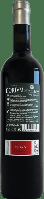 Thesaurus Flumen Dorium Selección de la Familia 18 Meses Tempranillo Ribera del Duero Reserva 75 cl
