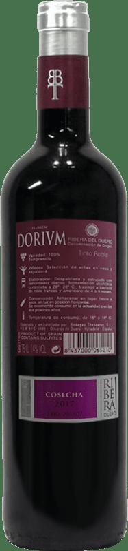 Thesaurus Flumen Dorium Tempranillo Ribera del Duero Eiche 75 cl