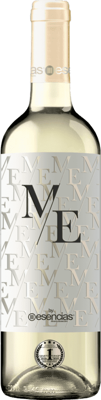 9,95 € | Vin blanc Esencias ME&White I.G.P. Vino de la Tierra de Castilla y León Espagne Verdejo Bouteille 75 cl