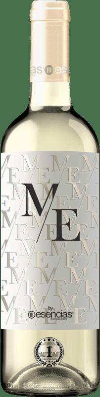 9,95 € Kostenloser Versand | Weißwein Esencias ME&White I.G.P. Vino de la Tierra de Castilla y León Spanien Verdejo Flasche 75 cl