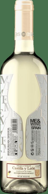9,95 € | Vino blanco Esencias ME&White I.G.P. Vino de la Tierra de Castilla y León España Verdejo Botella 75 cl