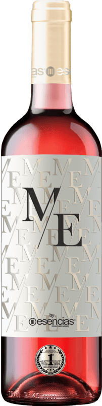 Rosé wine Esencias ME&Rosé Joven D.O. Cigales Castilla y León Spain Tempranillo Bottle 75 cl