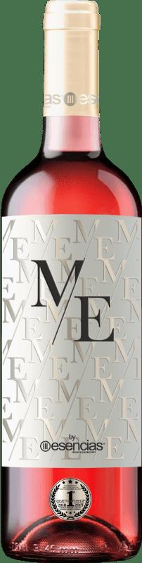 Envío gratis | Vino rosado Esencias ME&Rosé Joven D.O. Cigales Castilla y León España Tempranillo Botella 75 cl