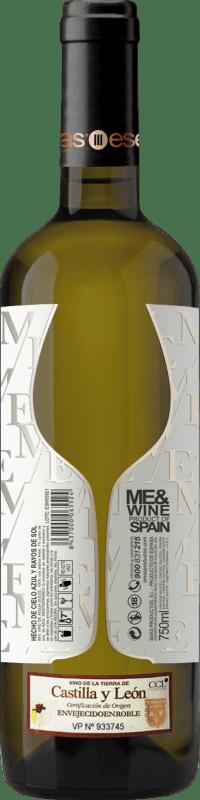 Vin blanc Esencias ME&White I.G.P. Vino de la Tierra de Castilla y León Espagne Verdejo Bouteille 75 cl
