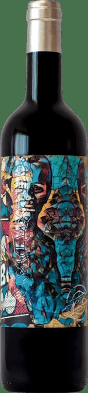 Rotwein Alvarito Crianza I.G.P. Vino de la Tierra de Castilla y León Kastilien und León Spanien Tempranillo Flasche 75 cl