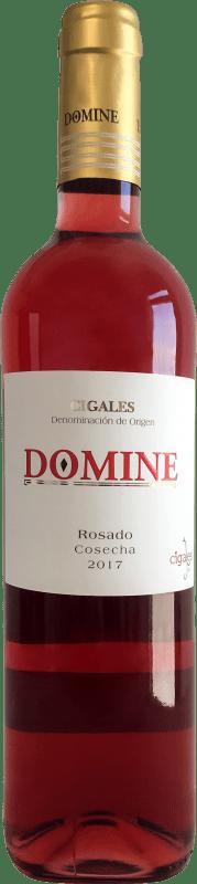 Vinho rosé Thesaurus Domine Joven D.O. Cigales Castela e Leão Espanha Tempranillo Garrafa 75 cl