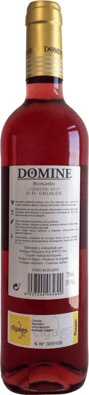Thesaurus Domine Tempranillo Cigales Joven 75 cl