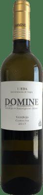 5,95 € Envio grátis | Vinho branco Thesaurus Domine Joven D.O. Rueda Castela e Leão Espanha Verdejo Garrafa 75 cl