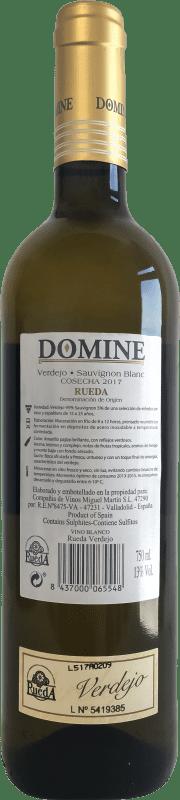 5,95 € Free Shipping | White wine Thesaurus Domine Joven D.O. Rueda Castilla y León Spain Verdejo Bottle 75 cl