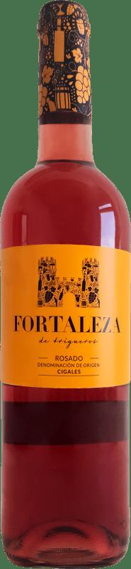 7,95 € Free Shipping | Rosé wine Thesaurus Fortaleza de Trigueros Joven D.O. Cigales Castilla y León Spain Tempranillo Bottle 75 cl