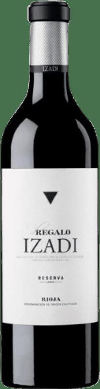 18,95 € Free Shipping | Red wine Izadi El Regalo Reserva D.O.Ca. Rioja The Rioja Spain Tempranillo Bottle 75 cl