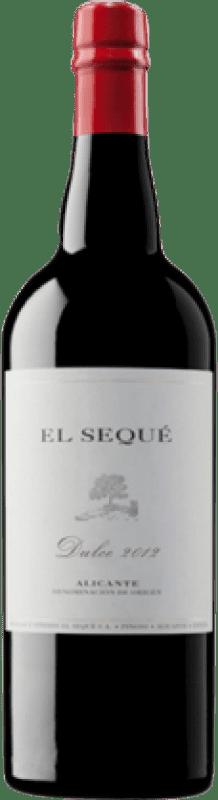 15,95 € Free Shipping | Sweet wine Artadi El Sequé D.O. Alicante Valencian Community Spain Monastrell Half Bottle 37 cl