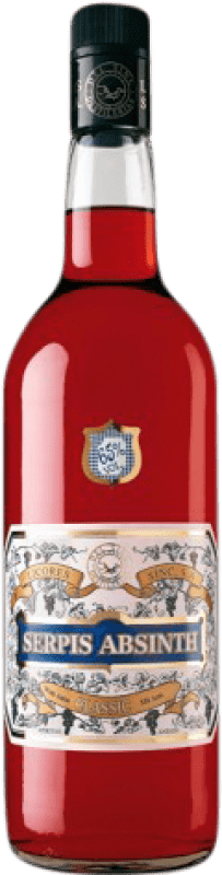 28,95 € Free Shipping | Absinthe Sinc Serpis Classic 65 Missile Bottle 1 L